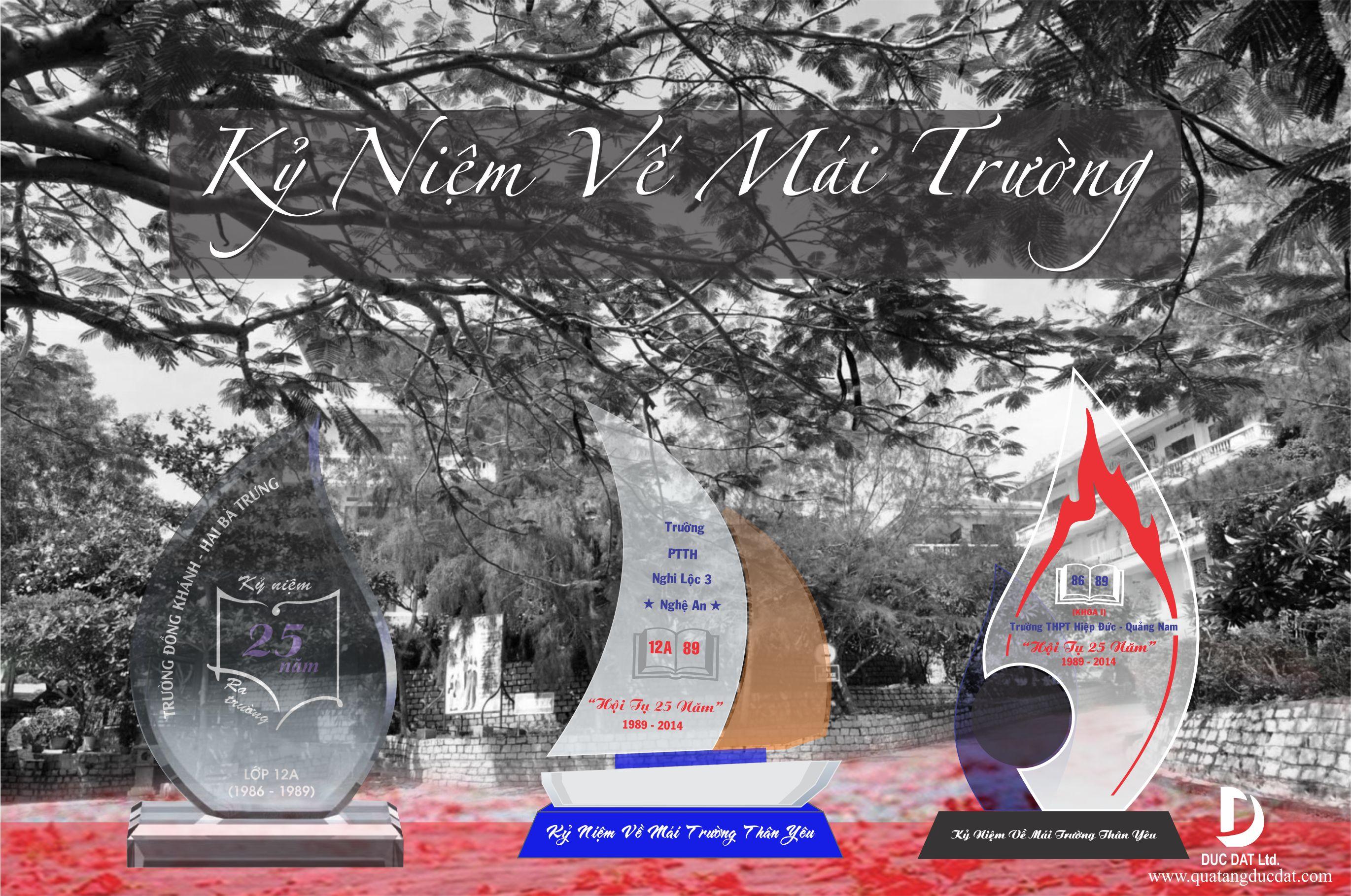 kỷ niệm chương pha lê, quà lưu niệm ra trường, kỷ niệm chương ngày tốt nghiệp, quà họp mặt, kỷ niệm chương giá rẻ,